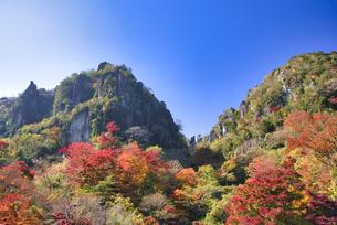 秋の耶馬渓 深耶馬渓の写真素材 [FYI04882333]