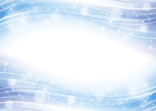 幻想的な光の背景 青のイラスト素材 [FYI04882811]