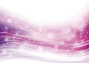 幻想的な光の背景 ピンクのイラスト素材 [FYI04882815]