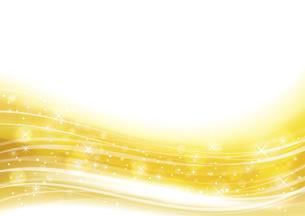 幻想的な光の背景 金色のイラスト素材 [FYI04882819]