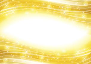 幻想的な光の背景 金色のイラスト素材 [FYI04882820]