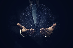 ビジネスイメージ ネットワークの写真素材 [FYI04883085]