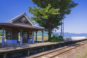 初夏の見晴台駅の写真素材 [FYI04883133]