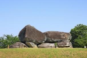石舞台古墳の写真素材 [FYI04883244]