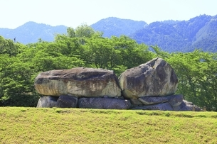 石舞台古墳の写真素材 [FYI04883249]