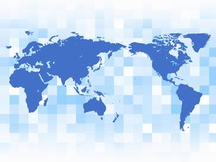 世界地図 グローバル経済 日本地図 地図 グローバル ビジネス背景のイラスト素材 [FYI04883903]
