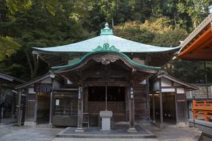 勝尾寺の太子堂の写真素材 [FYI04884273]