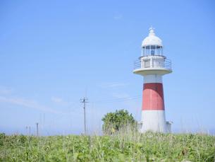 小さい灯台の写真素材 [FYI04884612]
