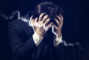 ビジネスイメージ 株式チャートの写真素材 [FYI04884936]