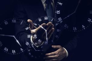 ビジネスイメージ 時間の写真素材 [FYI04884952]