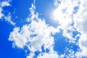 夏の空の写真素材 [FYI04885290]