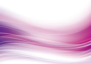 ウェーブアブストラクト背景 ピンクのイラスト素材 [FYI04885966]