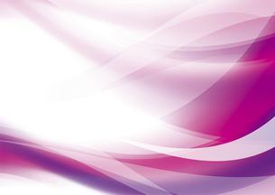 ウェーブと光のアブストラクト背景 ピンクのイラスト素材 [FYI04885977]