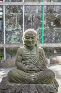 伊豆修禅寺 檀信徒会館脇の地蔵の写真素材 [FYI04886146]