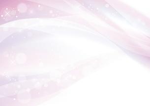 ピンクのウェーブ 抽象的な背景のイラスト素材 [FYI04886554]