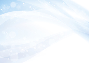 ブルーのウェーブ 抽象的な背景のイラスト素材 [FYI04886555]