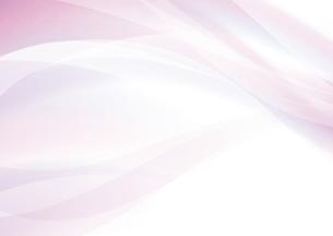 ピンクのウェーブ 抽象的な背景のイラスト素材 [FYI04886558]