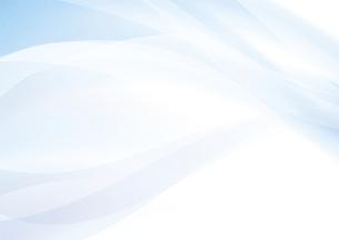 ブルーのウェーブ 抽象的な背景のイラスト素材 [FYI04886559]