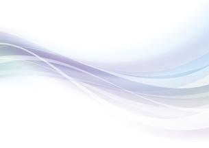 なめらかな波のイメージのイラスト素材 [FYI04886566]
