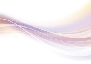なめらかな波のイメージのイラスト素材 [FYI04886567]