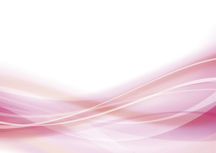 ピンクのウェーブ 抽象的な背景のイラスト素材 [FYI04886574]