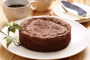 チョコレートケーキの写真素材 [FYI04886729]