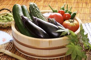 夏野菜の写真素材 [FYI04886731]