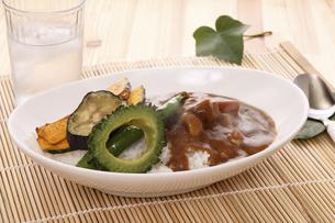 夏野菜カレーの写真素材 [FYI04886738]
