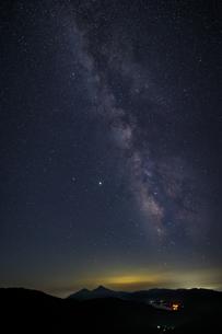 福島県 東鉢山七曲りより撮影の写真素材 [FYI04887343]