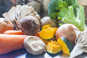 野菜集合の写真素材 [FYI04887395]