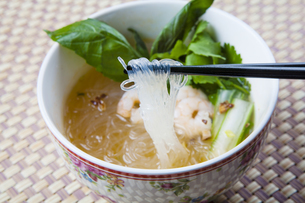 タイ風春雨ヌードルの写真素材 [FYI04887715]