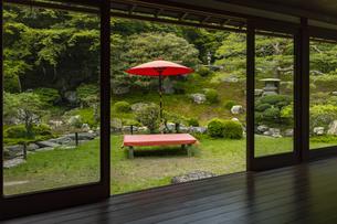 旧竹林院 庭園の写真素材 [FYI04887977]