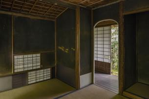 旧竹林院 茶室小間の写真素材 [FYI04887985]