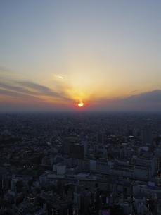 東京の夕方の写真素材 [FYI04888205]