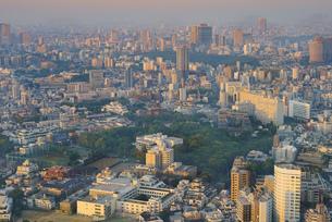 早朝の東京(南麻布、目黒方面)の写真素材 [FYI04888209]