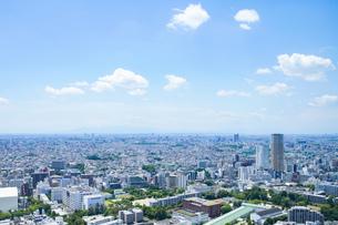 東京市街地(画面右は中目黒)の写真素材 [FYI04888251]