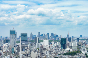 新宿・渋谷の風景の写真素材 [FYI04888253]