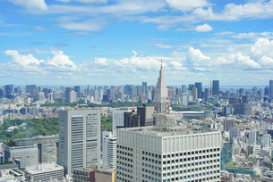 東京都心の写真素材 [FYI04888256]