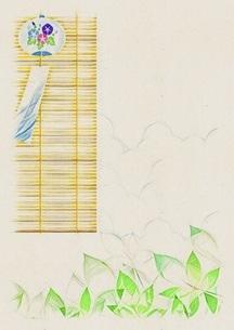 風鈴 夏の風物詩のイラスト素材 [FYI04888356]