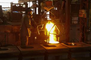鋳物工場の写真素材 [FYI04889242]