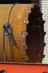 ボーリングドリルの刃の写真素材 [FYI04889370]