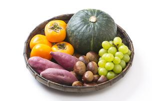 秋の食材の写真素材 [FYI04889622]
