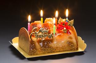 クリスマスケーキの写真素材 [FYI04889628]
