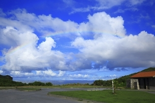 沖縄県 渡嘉敷島の阿波連園地の写真素材 [FYI04889724]