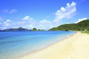 沖縄県 座間味島の阿真ビーチの写真素材 [FYI04889733]