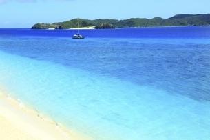沖縄県 阿嘉島のニシバマビーチの写真素材 [FYI04889758]