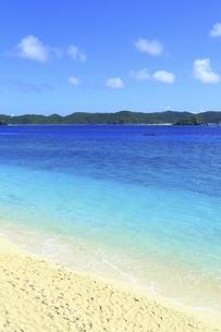 沖縄県 阿嘉島のニシバマビーチの写真素材 [FYI04889761]