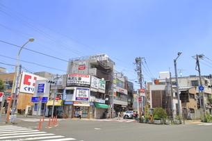 用賀駅前 田園都市線の写真素材 [FYI04889853]