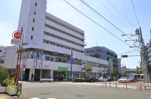 用賀駅東口 田園都市線の写真素材 [FYI04889855]