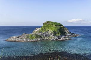 カモメの住む島~ポンモシリ島~の写真素材 [FYI04889868]